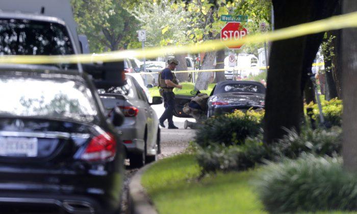 (Mark Mulligan/Houston Chronicle via AP)