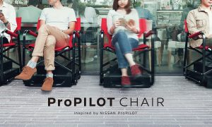 Nissan Develops Self-Driving Chair to Promote Its Self-Driving Cars