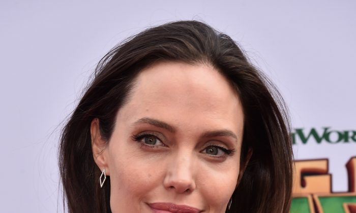 Actress Angelina Jolie in Hollywood, California on January 16, 2016. (Alberto E. Rodriguez/Getty Images)