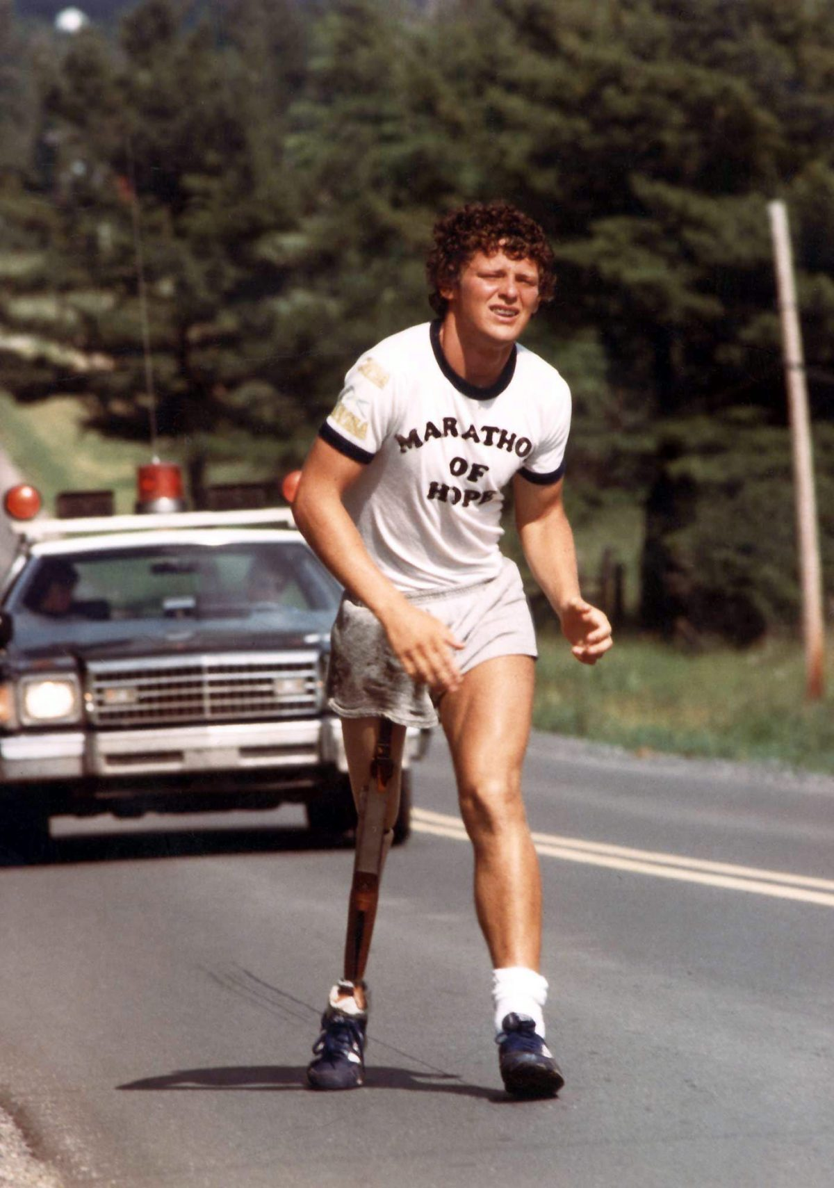 Marathon of Hope runner Terry Fox