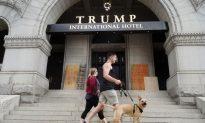 Donald Trump's Washington Hotel Was Vandalized