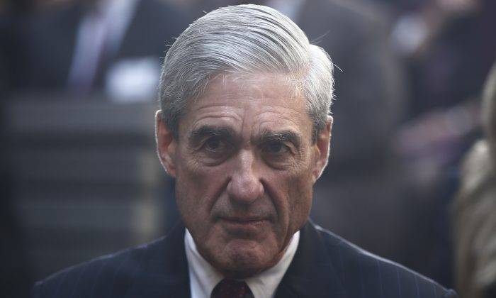 Former FBI Director Robert Mueller. (AP Photo/Charles Dharapak)