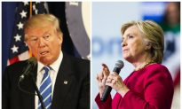 Clinton, Trump Weigh in on Hurricane Matthew