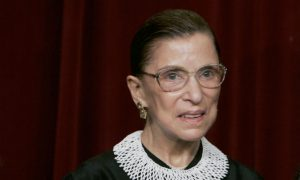 Ruth Bader Ginsburg Fractures Three Ribs After Fall, Is Hospitalized