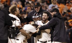 Panik, Giants Top Cubs 6–5 in 13 to Force Game 4 in NLDS