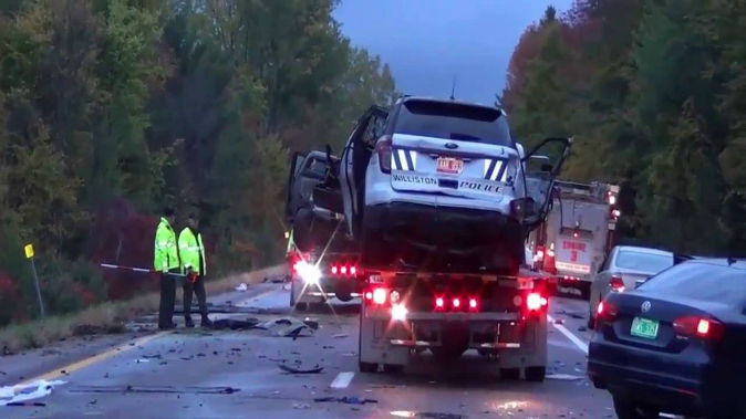 A crash caused by a wrong-way driver killed five students in Vermont on Oct. 8. (YouTube)