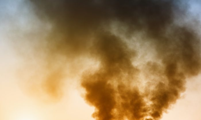 A file photo of industrial emissions. (Bohbeh/Shutterstock)
