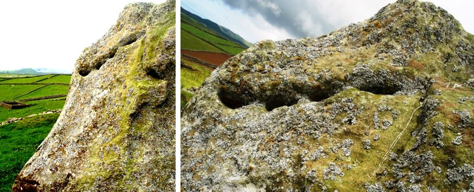 An example of slits made in rocks on the Azores islands. (Courtesy of Antonieta Costa)