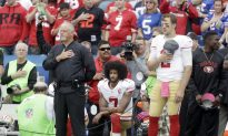 Report: NFL Ratings Increase, Coinciding With End of Colin Kaepernick Controversy