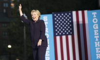 National Poll: Clinton Leading Among Men for the First Time