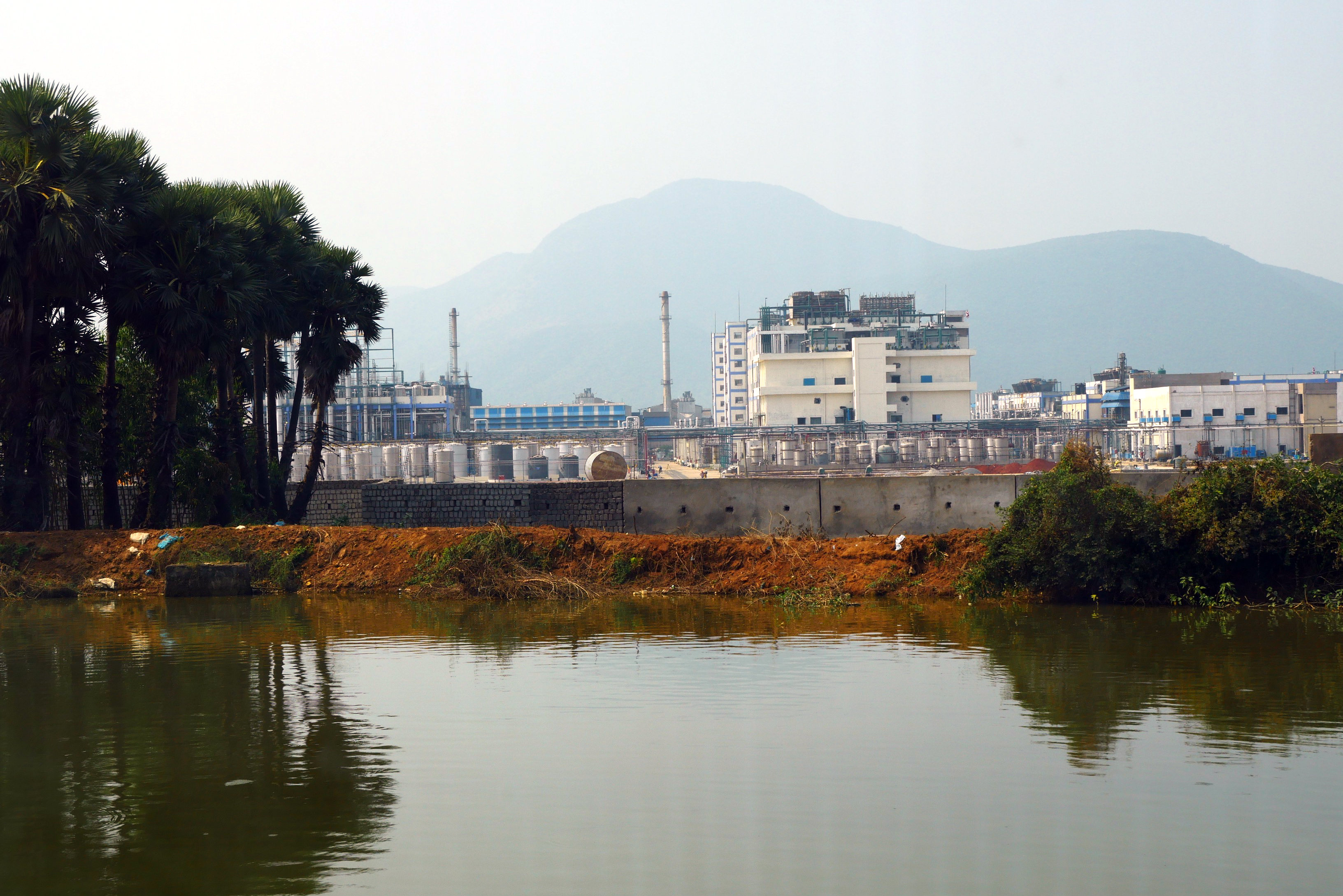 A file photo of an Aurobindo pharmaceutical factory in Pydibhimavaram, India. (Courtesy of Changing Markets)