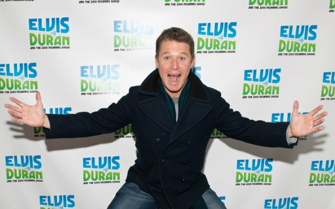 Billy Bush visits 'The Elvis Duran Z100 Morning Show' at Z100 Studio on February 10, 2016 in New York City. Television executives are reportedly interested in hiring Bush, just one week after his firing from NBC on Oct. 26. (D Dipasupil/Getty Images)
