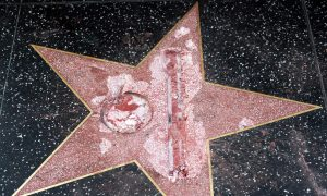 Suspect Arrested in Destruction of Trump's Hollywood Star