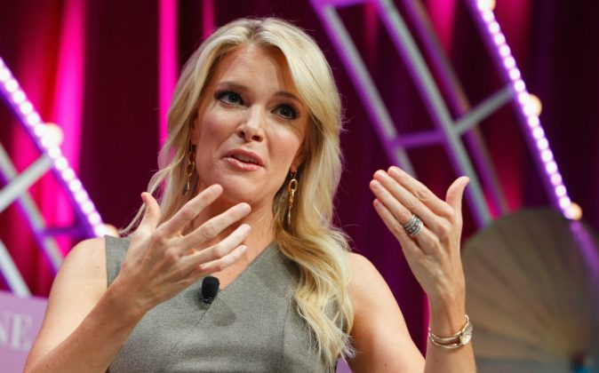 Megyn Kelly speaks onstage during Fortune's Most Powerful Women Summit - Day 2 at the Mandarin Oriental Hotel in Washington on Oct. 13, 2015. (Paul Morigi/Getty Images for Fortune/Time Inc)