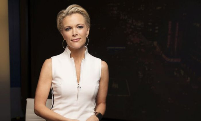 """In this May 5, 2016 file photo, Megyn Kelly poses for a portrait in New York. Fox News boss Rupert Murdoch says that he wants to keep Kelly at the network, but if she decides to leave """"we have a deep bench of talent, many of whom would give their right arm for her spot."""" Her contract is up next year. But Fox would like to map out its future sooner rather than later, perhaps even settling Kelly's status before the Nov. 15 publication of her book, """"Settle For More."""" (Photo by Victoria Will/Invision/AP, File)"""