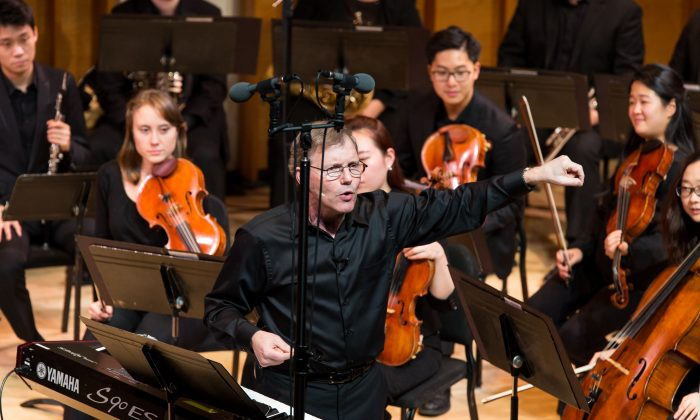The MSM Chamber Symphonia conducted by Rob Kapilow at Merkin COncert Hall on Nov. 7, 2016. (Anna Yatskevich)