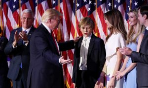 Trump: Melania, Son Will Move to White House After School