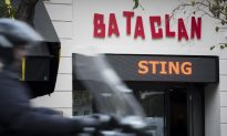 Heavy Security as Sting Reopens Bataclan After Paris Attacks