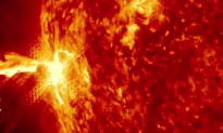 Solar Flare Caused a 'Crack' in Protective Field Around Earth (Video)