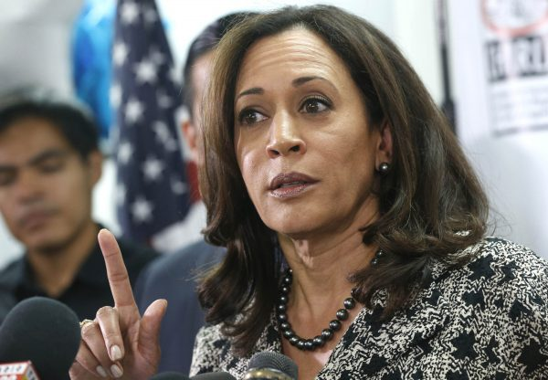 Senator Kamala Harris speaks