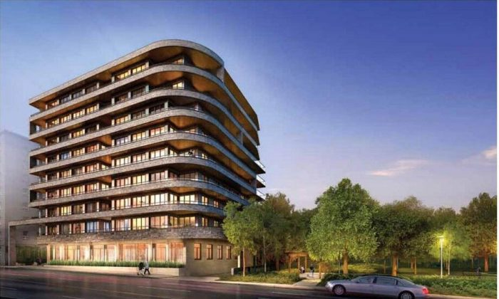 Rendering of the Davies, a condo development by Brandy Lane Homes in Toronto  (The Davies)