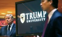 Trump Tweets Trump University Deal Helps Him Focus on US