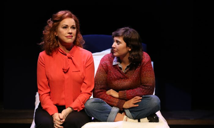 """(L–R) Aurora Greenway (Molly Ringwald) and her daughter Emma (Hannah Dunne) rarely see eye to eye, in """"Terms of Endearment."""" (Carol Rosegg)"""