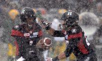 Redblacks Survive Eskimos, Snow Storm in Return to Grey Cup