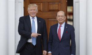 Trump Taps Billionaire Investor Wilbur Ross for Commerce Secretary