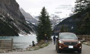 2017 Ford Escape: Driving Through the Rockies