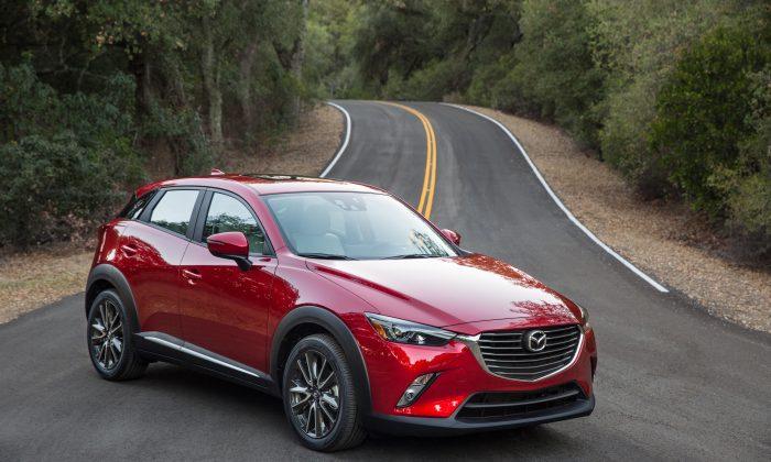 2017 Mazda CX-3. (Courtesy of Mazda)
