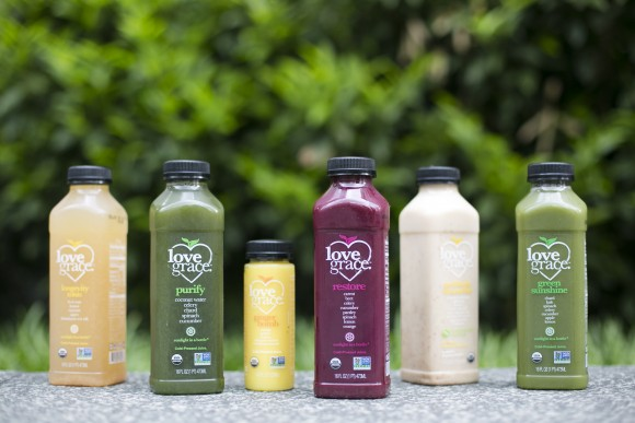 Love Grace juices used for my cleanse. (Samira Bouaou/Epoch Times)