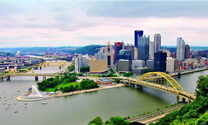 Pittsburgh's skyline and some of the city's many bridges. (David Reid/VisitPittsburgh)