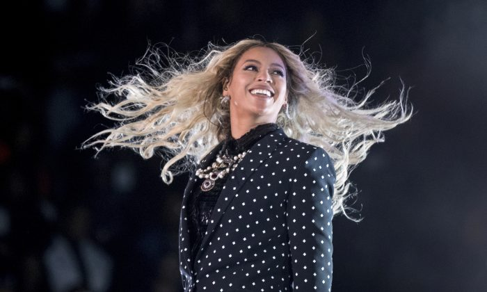 Beyonce performs at a Get Out the Vote concert for Democratic presidential candidate Hillary Clinton in Cleveland, in this file photo. (AP Photo/Andrew Harnik)