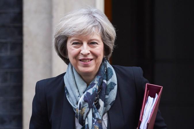 British Prime Minister Theresa May in London on Nov. 16. (NIKLAS HALLE'N/AFP/Getty Images)