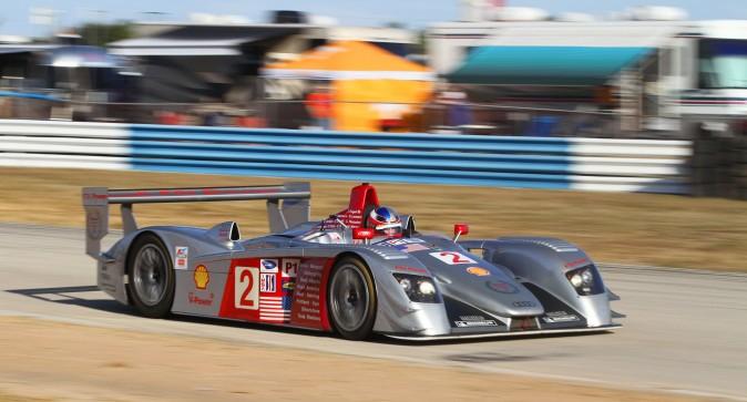 Travis Engen finished third in his 2005 Audi R8. (Chris Jasurek/Epoch Times)