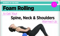 Foam Rolling: Whole-Body Warmup Part 3: Spine, Neck & Shoulders