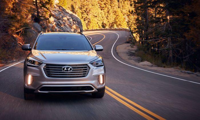 2017 Hyundai Santa Fe. (Courtesy of Hyundai)