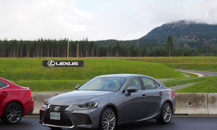 2017 Lexus IS. (Benjamin Yong)