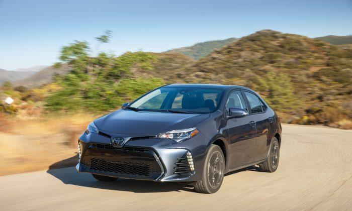 2017 Toyota Corolla XSE. (Courtesy of Toyota)
