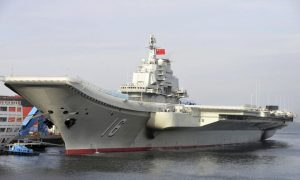 Taiwan Says Chinese Warships, Aircraft Carrier Represents a Growing Threat