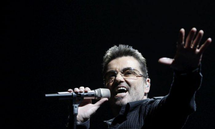 Singer George Michael in 2008  (AP Photo/Matt Sayles, File)