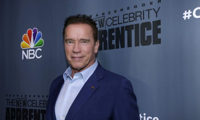 New Video Angle Shows Arnold Schwarzenegger Getting Drop