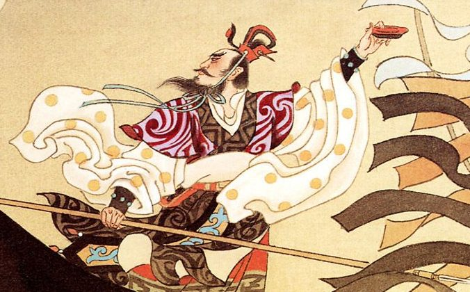 Cao Cao a Chinese historical figure with multiple talents in literature and military strategy. (Internet image)