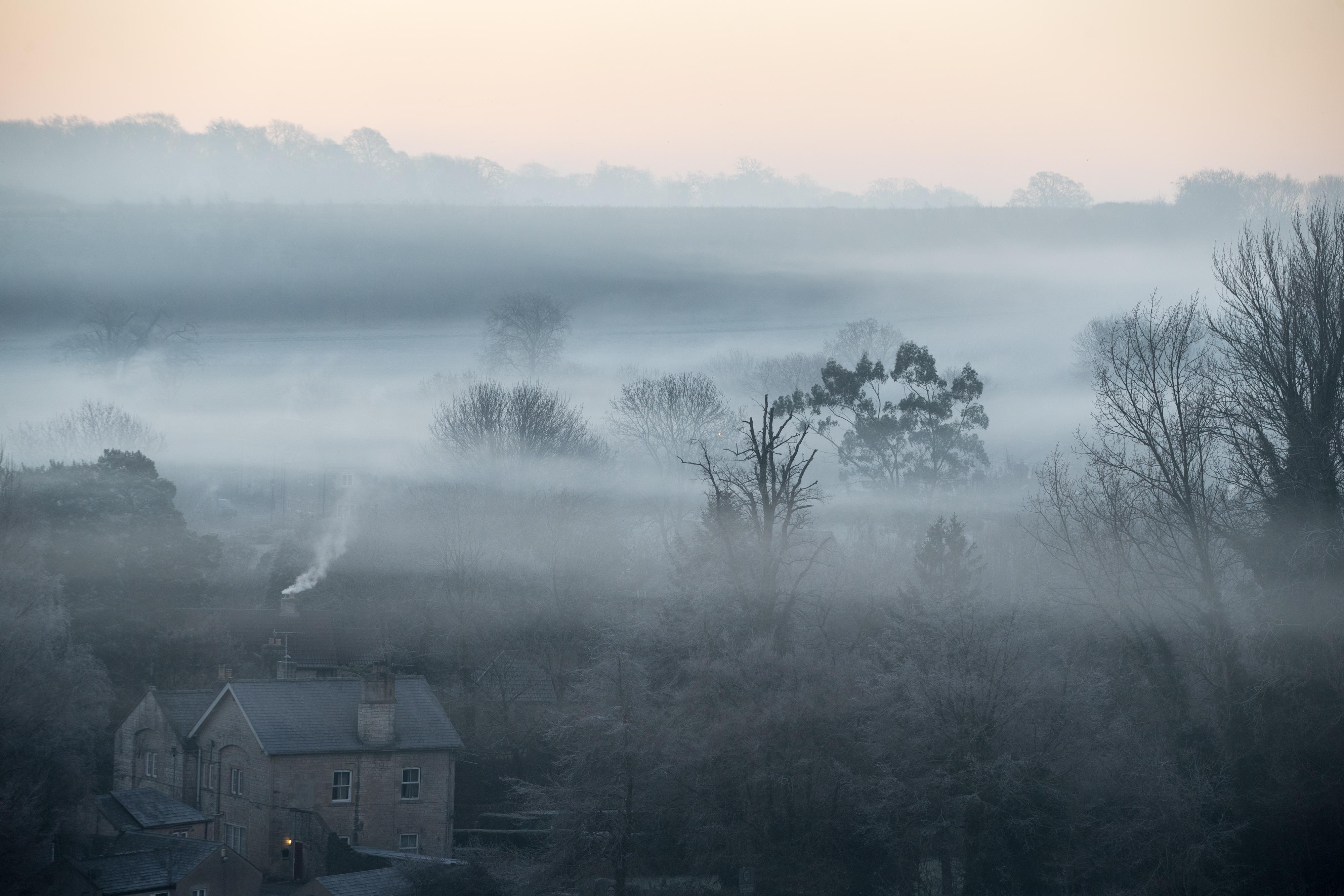туман в англии фото люди