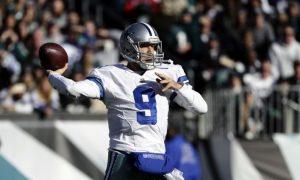 Tony Romo Tosses TD Pass, Cowboys Lose 27-13 to Eagles