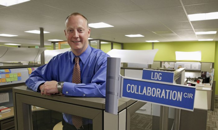 In this file photo, Patrick Conway, director of the Center for Medicare & Medicaid Innovation, poses for a photograph in the center's offices in Baltimore County, Md. , on April 12, 2016. (AP Photo/Patrick Semansky)