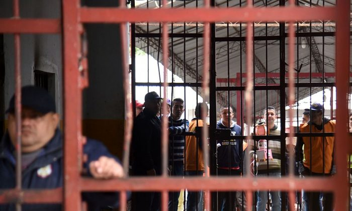 A stock photo of a prison in Brazil (Norberto Duarte/AFP/Getty Images)