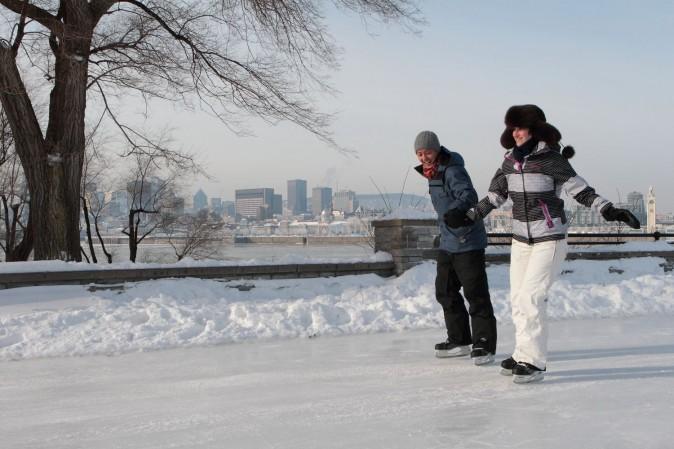 Fun at Fête des neiges. (Parc Jean-Drapeau, Gilles Proulx)