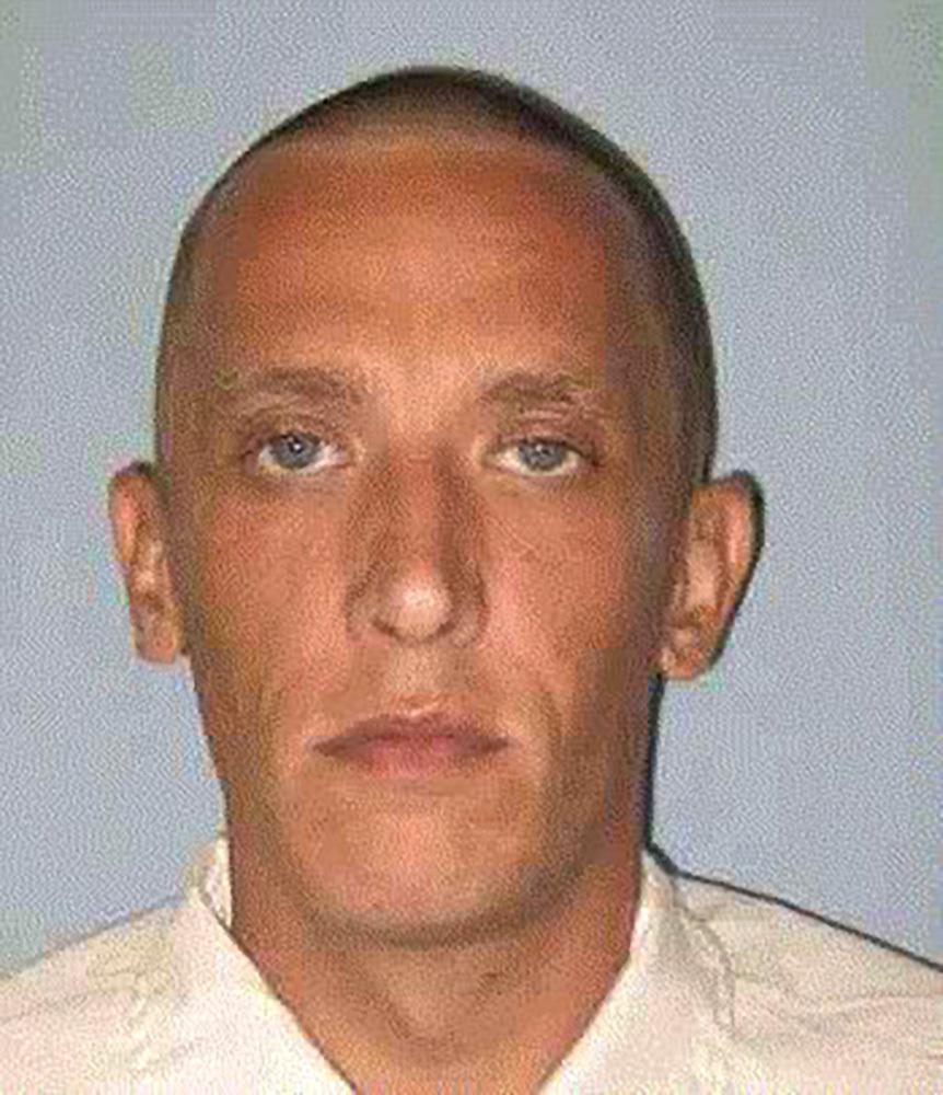 Inmate Bobby Campbell Jr. (AP Photo/Alabama Department of Corrections)